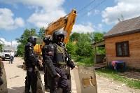 В Плеханово начали сносить дома в цыганском таборе, Фото: 140