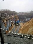 ЧП рухнул мост в Донском, Фото: 3