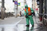 В Туле продолжается масштабная дезинфекция улиц, Фото: 19