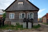 В Плеханово начали сносить дома в цыганском таборе, Фото: 58