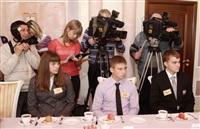 Владимир Груздев встретился со школьниками Тульской области, Фото: 1