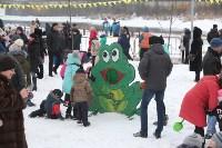 Как туляки провожали зиму на набережной Упы, Фото: 60