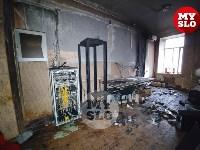 В Петелинской психиатрической больнице произошел пожар, Фото: 12