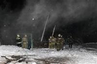 В пос. Менделеевский сгорел частный дом., Фото: 13