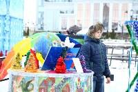 Арт-объекты на площади Ленина, 5.01.2015, Фото: 33