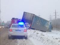 На Одоевском шоссе в Туле у водителя фуры отказало сердце, Фото: 2