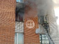 Пожар в общежитии на ул. Фучика, Фото: 16