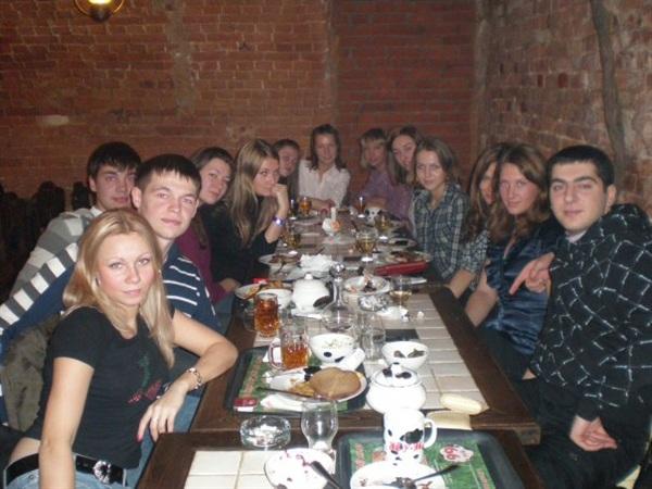 Моя дружная группа! Отмечаем успешную сдачу зачётной сессии, впереди ГОСы и защита диплома!