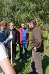 В Пролетарском районе высадили молодые деревья, Фото: 7