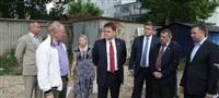 Владимир Груздев проинспектировал строительство жилья в Кимовске и в Донском, Фото: 8