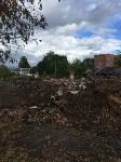 Горит строительный мусор в Узловском районе, Фото: 5