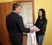 Воловские новоселы поручили ключи от квартир из рук Алексея Дюмина, Фото: 12