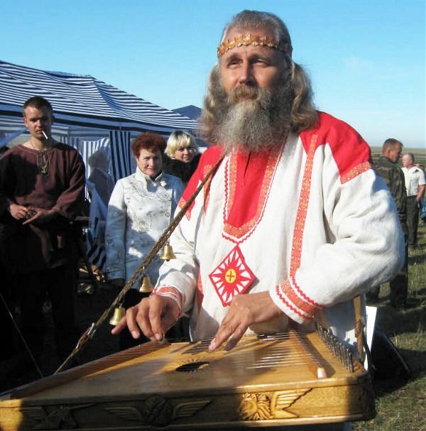 Гусляр Любослав (Александр Субботин) на Куликовом поле.