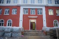 Дмитрий Миляев проверил, как идет ремонт вечерней школы на ул. Зорге, Фото: 23