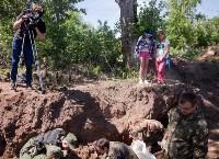 Останки бойцов в деревне Криволучье, Фото: 66