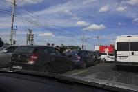 Фото с места аварии на ул. Рязанская в Туле днём 13 июня 2015 года , Фото: 3