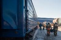 Учения МЧС на железной дороге. 18.02.2015, Фото: 3