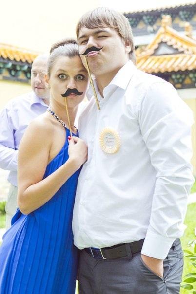 Главный атрибут всех свадебных фотографов в последнее время)))