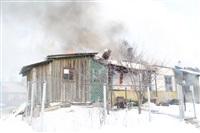 Пожар в жилом бараке, Щекино. 23 января 2014, Фото: 4