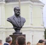 На Аллее Славы поставили бюст основателя Тульского патронного завода, Фото: 3