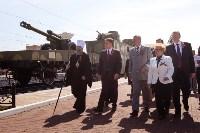 Открытие монумента и бронепоезда на Московском вокзале. 8 мая 2015 года, Фото: 74