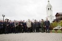 На Аллее Славы поставили бюст основателя Тульского патронного завода, Фото: 24