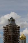 Установка шпиля на колокольню Тульского кремля, Фото: 24