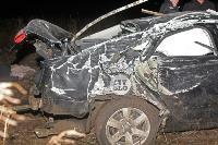 В жутком ДТП в поселке Рассвет погиб пассажир Audi A6, Фото: 5