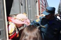 Сотрудники МЧС встретили беженцев на Московском вокзале 28 июля 2014 год, Фото: 12