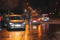 В Туле пьяный на Audi протаранил пять автомобилей, Фото: 24
