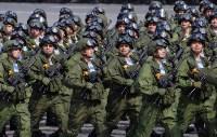 Тульская делегация побывала на генеральной репетиции парада Победы в Москве, Фото: 12