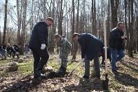 Посадка деревьев в Комсомольском парке, Фото: 25