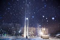 Вечерний снегопад в Туле, Фото: 1