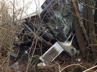 В Тульской области перевернулся пассажирский автобус, Фото: 2