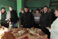 Владимир Груздев в Дубенском районе. 30 января 2014, Фото: 34