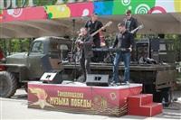 В Туле ветеранов развлекали рок-исполнители, Фото: 71