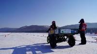 Мотороллер «Алексей Геннадьевич» из Тулы установил рекорд скорости на «Байкальской миле», Фото: 17