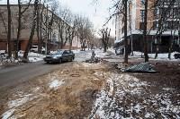 Провал дороги на ул. Софьи Перовской, Фото: 8