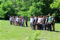 Тульский ОМОН провел боевую подготовку школьников, Фото: 16