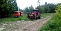 В Привокзальном округе Тулы выполняется ремонт тротуаров, Фото: 3