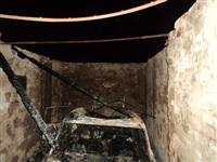 Сгоревший в Киреевском районе автомобиль, Фото: 2