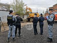 Снос незаконных павильонов в Заречье, Фото: 3