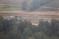 В Суворовском районе  введен в эксплуатацию участок автодороги «Калуга-Перемышль-Белёв-Орёл», Фото: 50