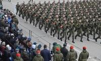 Репетиция Парада Победы в подмосковном Алабино, Фото: 100
