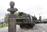 На Аллее Славы поставили бюст основателя Тульского патронного завода, Фото: 12