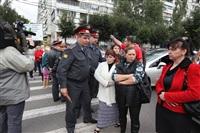 Митинг предпринимателей на ул. Октябрьская, Фото: 5