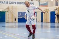 Мэр Тулы Юрий Цкипури и команда ветеранов «Фаворит» сыграли в футбол с волонтерами, Фото: 49