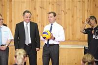 Медведев в Алексине, Фото: 9