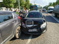 В Туле на ул. Октябрьской водитель автобуса устроил массовое ДТП, Фото: 22