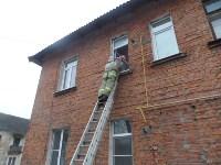 Пожар в Суворовском районе утром 16 декабря, Фото: 4